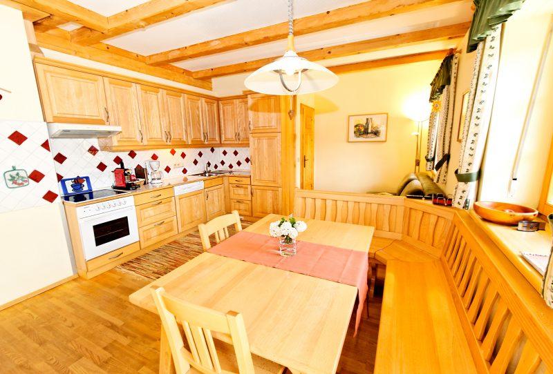 Küche Winzersuite Ferienwohnung