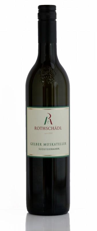 Gelber Muskateller Südsteiermark Weingut Rothschaedl Wein
