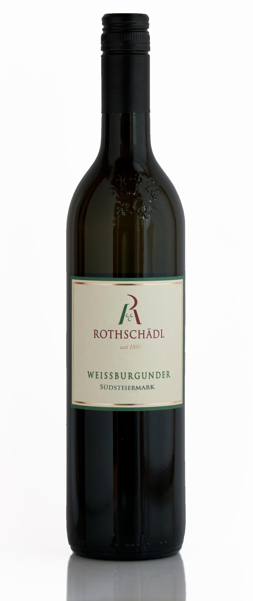 Weissburgunder Südsteiermark Weingut Rothschädl Wein - Leutschach an der Weinstraße - Eichberg-Trautenburg