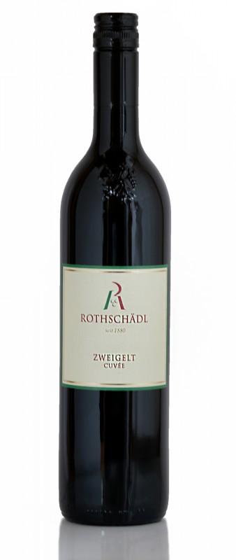 Rotwein Zweigelt Cuvée von Weingut Rothschädl aus der Südsteiermark