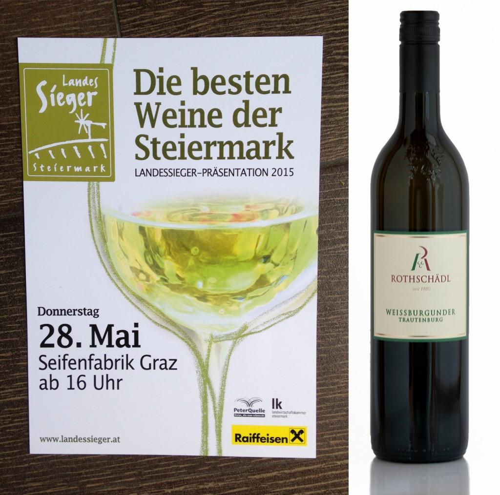 Landesweinbewertung Finalist Weißburgunder Trautenburg
