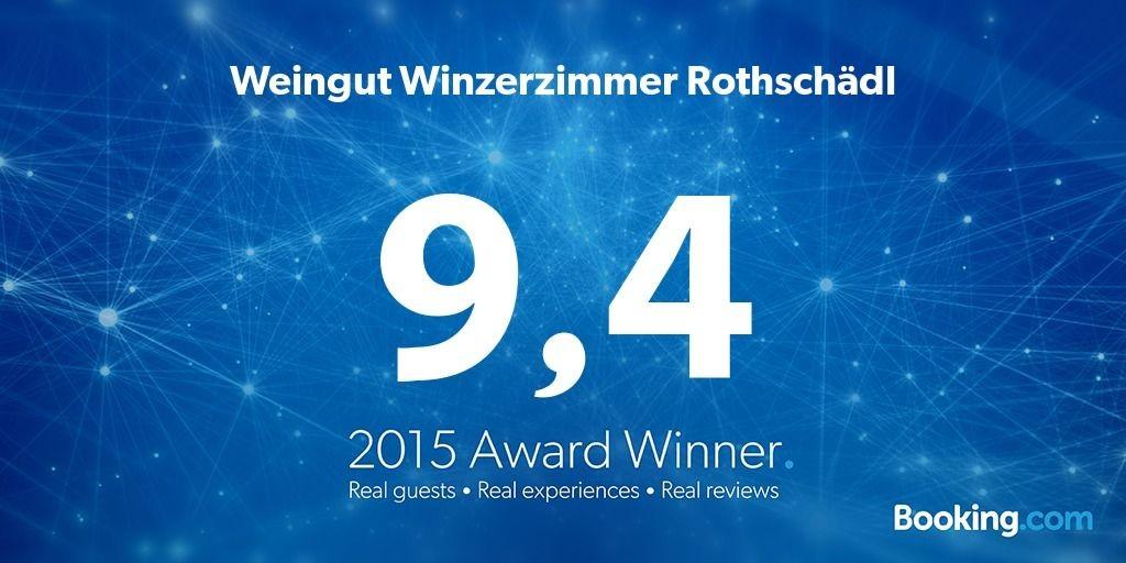 Guest Review Award Winner Weingut Winzerzimmer Rothschädl mit 9,4