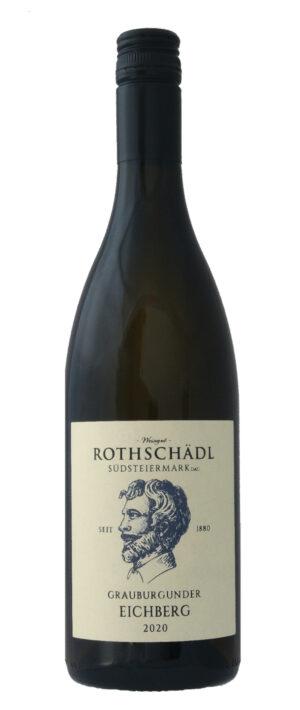 Grauburgunder Eichberg Weinflasche