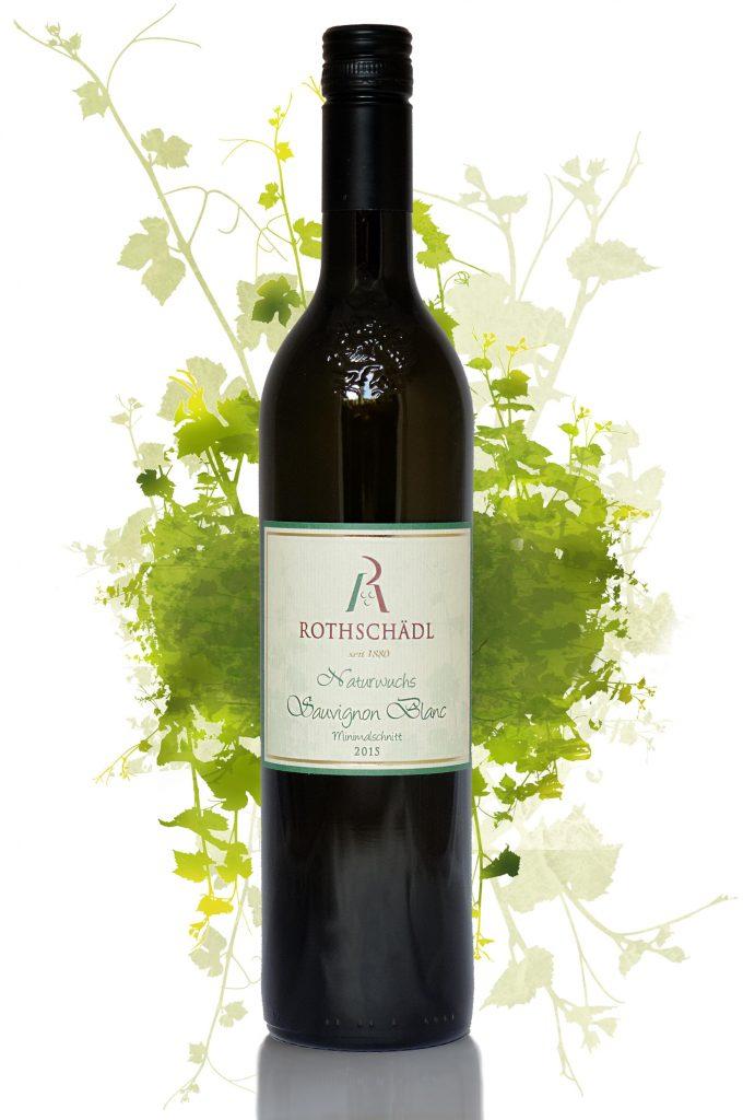 Sauvignon Blanc Naturwuchs Minimalschnitt Wein von Weingut Rothschädl - Südsteirmark - Österreich